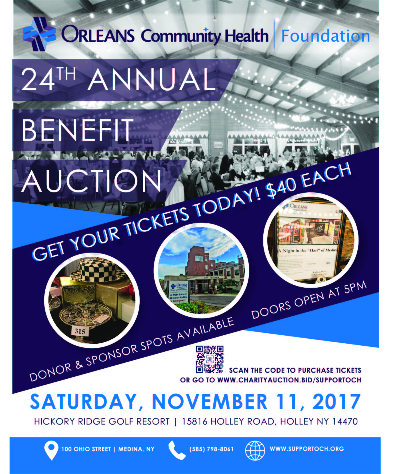 2017 annual benefit auction orleans community health foundation