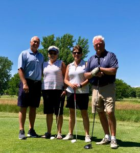 2018 Mixed Champions: David Cook, Marcia Jones, Jeanne Whipple, Greg Budd